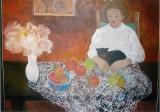 福山スミ子さんの油絵